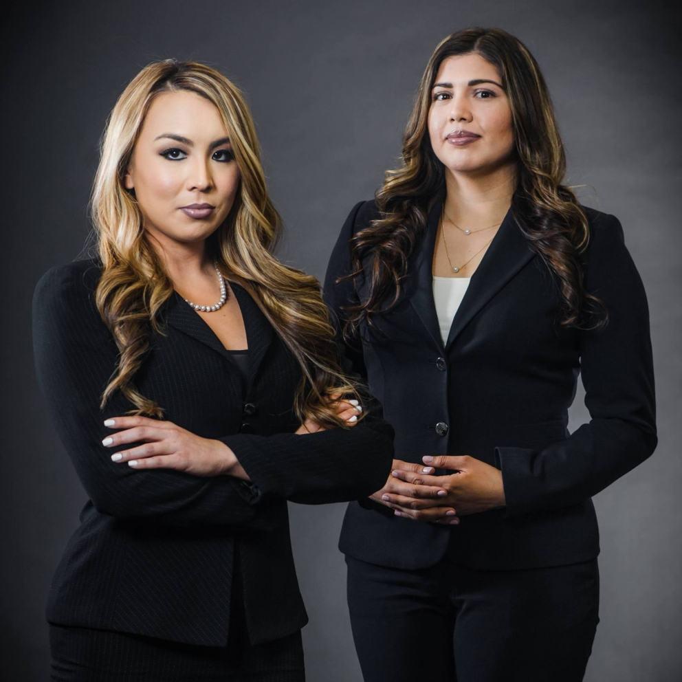 Emeline Garcia and Alba Melena